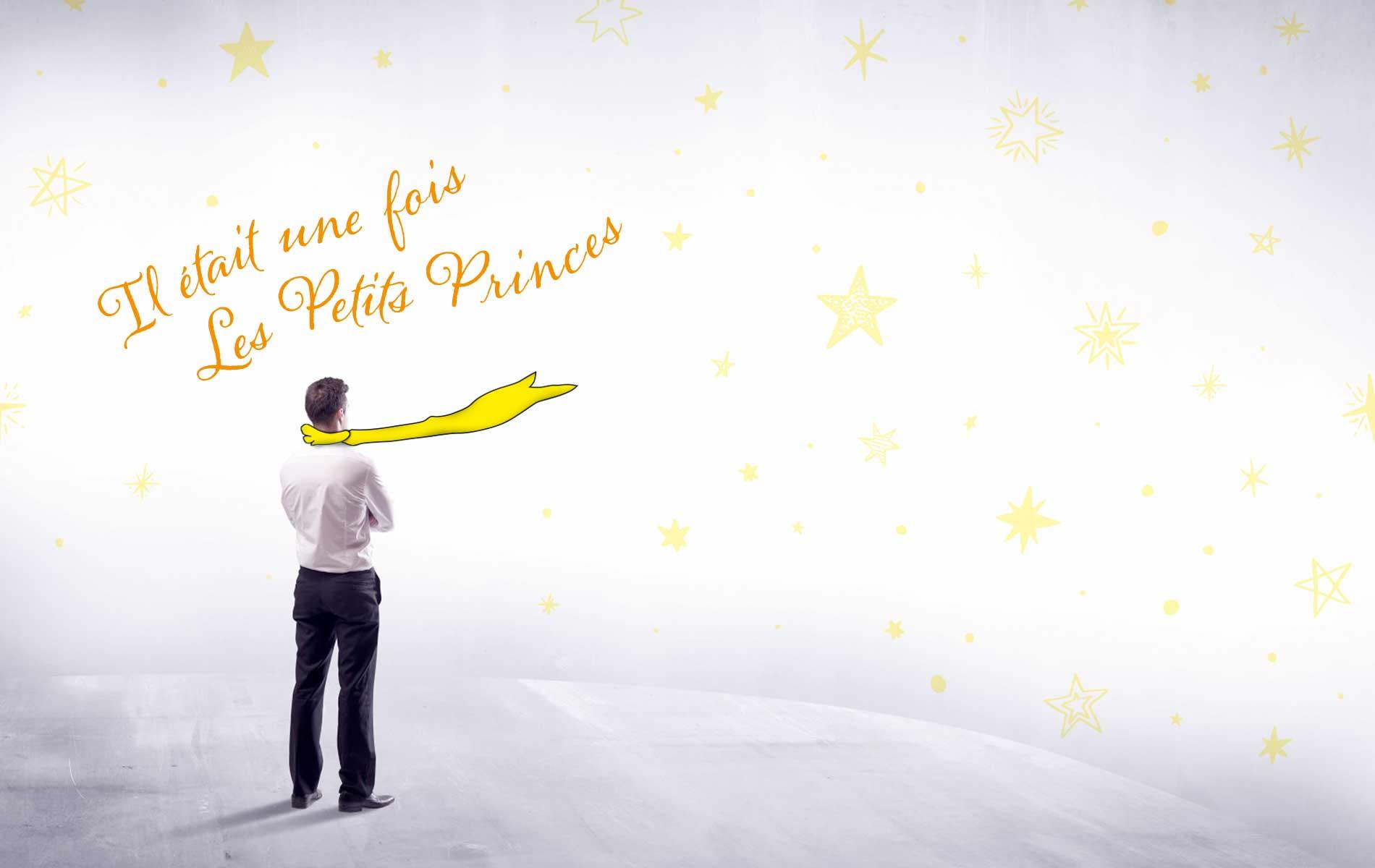 """</br>An event created by</br>Virginie Nogueras President </br>of the """"Il était une fois les Petits </br>Princes"""" Association"""